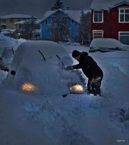 Как зимой завести машину